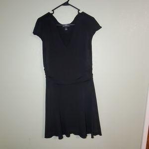 I.N.C Short Sleeve Black Dress